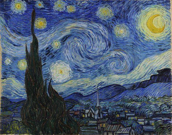 VAN GOGH tähtikirkas yö
