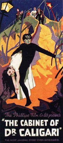 Tohtori Caligarin kabinetti (1920)