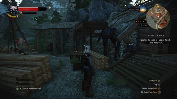 the-witcher-3-roach-bug