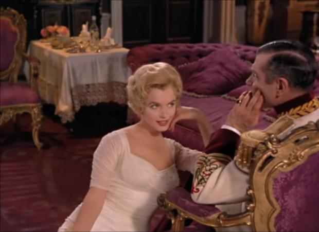 prinssi ja revyytyttö marilyn laurence olivier